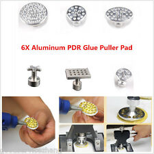 6X Aluminum Body Paintless Dent Repair Tools PDR Glue Puller Tabs Removal Kits