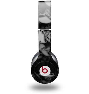 Skin for Beats Solo HD Headphones Skulls Confetti White by WraptorSkinz