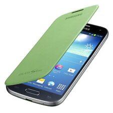 Flip Case Cover for Samsung Galaxy S4 Mini i9195 i9190 Lime Green Smart Folio