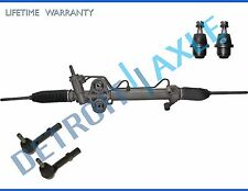 5pc Complete Hydraulic Power Steering Rack and Pinion Suspension Kit