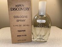 COTY- ASPEN DISCOVERY- COLOGNE SPRAY- 1.7 FL OZ- WOMEN- VINTAGE- NEW BOXED (Y38)