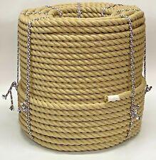 24mm Synthétique Poly Chanvre Plancher Corde Éscalier Naturel Bannister 10 Mètre