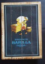 BARILLA PARMA; Industrial Wooden Vintage Rustic Retro Cafe Wall Art Print NEW