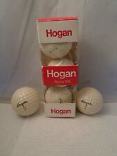 Vintage Hogan Apex 90+ Golf Balls Antique Golf Equipment Sporting Good 5 balls
