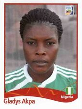 Panini FIFA World Cup 2011 Germany Women Sticker #71 Gladys Akpa Nigeria