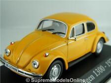 VOLKSWAGEN BEETLE 1300 1970 MODEL CAR 1/43RD SCALE ORANGE ISSUE PKD K8967Q~#~