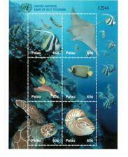 Palau - 2002 - Eco Tourism - Sheet of Six - MNH