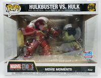 Funko Pop! Marvel Hulkbuster vs Hulk #394 2018 Fall Convention Exc Damaged Box