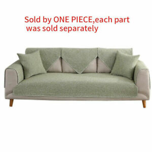1pc Sofa Cover Slipcover Home Sofa Backrest Armrest Towel Soft Couch Protector