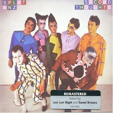 SPLIT ENZ SECOND THOUGHTS REMASTERED CD NEW