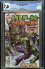 Hulk Vs. Fin Fang Foom #1 CGC 9.6 White Pages