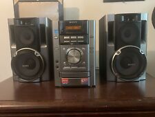 New listing Sony Hcd-Ec70 Stereo System Speakers 3-Disc Cd Player & Am/Fm No Remote Control