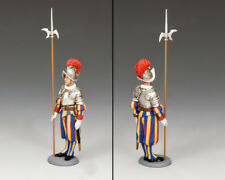 King and Country cerimoniale Swiss GUARDSMAN in attenzione CE17 CE017