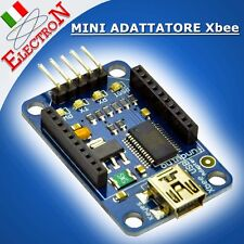 MINI ADATTATORE Xbee BTbee Bluetooth EXPLORER USB Board FT232RL UART Arduino PIC