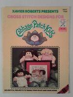 Cabbage Patch Kids Cross Stitch patterns book Xavier Roberts