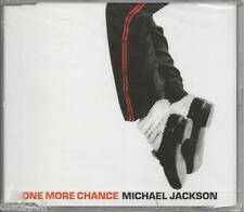 MICHAEL JACKSON - One more chance - CDs SINGLE 2003 SIGILLATO SEALED 4 TRACKS
