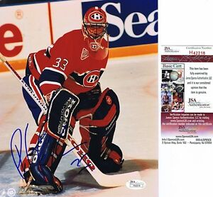 PATRICK ROY Signed MONTREAL CANADIENS 8x10 Photo - JSA #H42218