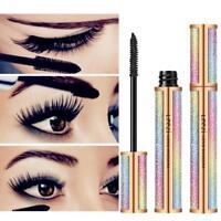 4DSilk Fiber Eyelash Mascara Lengthening Girl Makeup Black Waterproof Eye Lashes