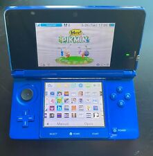 Nintendo 3DS Blue 170 Games Installed 3DS + SNES + GBA + GBC + GB