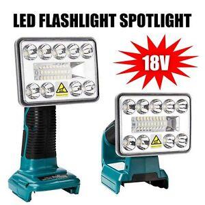 für Makita BL1430 BL1830 18V / 14.4V LED Arbeitsleuchte Taschenlampe Strahler