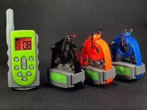 3 Three DOGs KoolKani 600Meters Rechargeable Waterproof Remote Training Collar