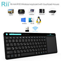 Rii RT518 Hebrew Language Wireless Keyboard For Window XP PC OS Smart TV