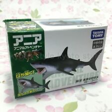 Ania AS-07 Great White Shark Mini Action Figure 19950 JAPAN