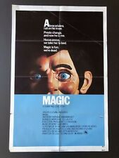 "Magic (1978) - Original One Sheet Movie Poster - 27"" x 41"""