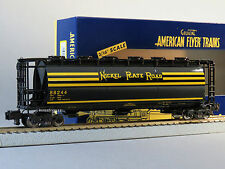 LIONEL AMERICAN FLYER S GAUGE NPR CYLINDRICAL 3 BAY HOPPER AF 2 rail 6-48669 New