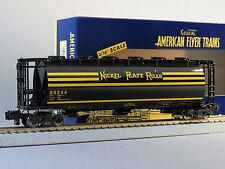 LIONEL AMERICAN FLYER S GAUGE NPR CYLINDRICAL 3 BAY HOPPER AF 2 rail 6-48669 New