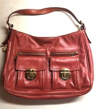 Marc Jacobs Stella Large Tote Handbag Soft Red Leather