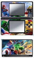 VINYL SKIN STICKER FOR NINTENDO DS LITE REF 41 LEGO MARVEL