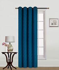 Elegant Decorative JKS1626 Faux Curtain Grommet Embroidery crush panel Window