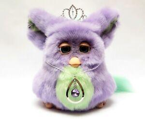 Jewelled Funky Furby 2006 emoto tronic 62169 PURPLE GREEN blue eyes HIGHLY RARE