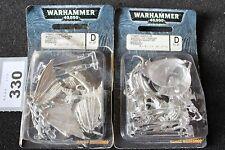 Juegos taller Warhammer 40k Tiránidos gárgolas x4 Metal Nuevo figuras GW Nuevo Y En Caja fuera de imprenta