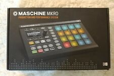 Native Instruments Maschine Mikro Mk2 R2 BLack--- with Software downloads