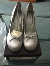 Kurt Geiger Silver high heels with chrome heel 40