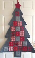 Mr /& Mrs TOMTE gonk fabric sitting CHRISTMAS DECORATIONS 15cm Scandi Santa