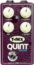 T-Rex Quint Machine Pedale Effetti Basso o Chitarra Octave & Fifths