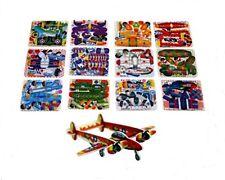 12 Mini Aereo Aliante 3d Puzzle Party Borsa Filler