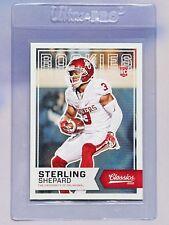 2016 Panini Classics Sterling Shepard Rookie Football Card. Oklahoma. NY Giants.