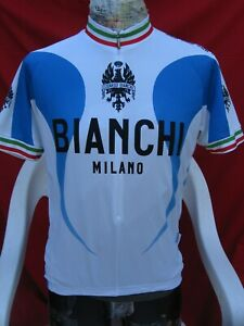 Bianchi Cycling Jersey XL Made in Italy