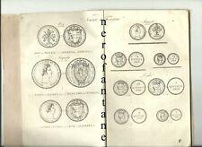 MONETE -Tavole di confronto fra la vecchia moneta toscana e la nuova....1826