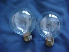 Antique/Vintage Working Ge Light Bulbs – Two (2)