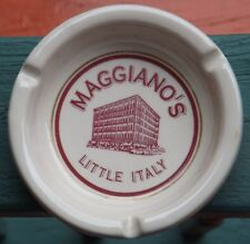 Maggiano's Litle Italy Restaurant Sterling China Ashtray