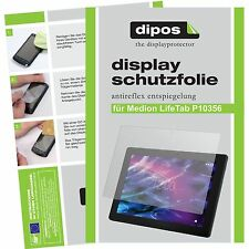 2x Medion Lifetab P10356 Schutzfolie Display Folie matt Displayschutzfolie dipos