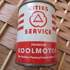 Cities Service Premium Koolmotor PA Motor Oil Coin Bank