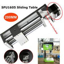 200mm Linear Module Stage Sliding Table 1605 Ballscrew Cross Linear Motion CNC