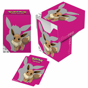 *NEW* Ultra Pro Pokémon 2019 Eevee Deck Box
