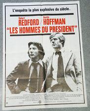 Affiche de cinéma : LES HOMMES DU PRESIDENT - PAKULA 60X80 REDFORD HOFFMAN